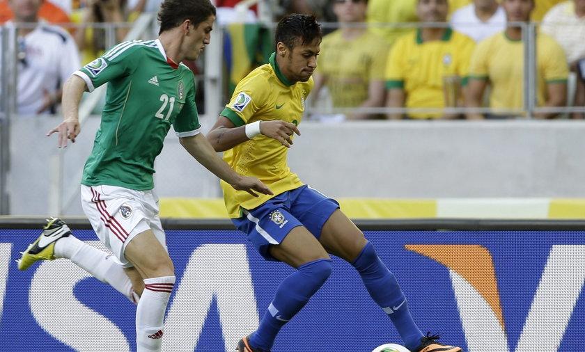 Brazylia, Meksyk, Puchar konfederacji