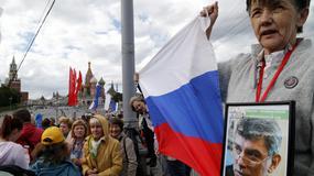 W Moskwie demonstrowali opozycjoniści
