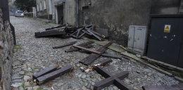 Runął taras widokowy w Paczkowie. Jedna osoba nie żyje