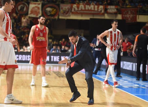 Dušan Alimpijević je isključen početkom treće četvrtine