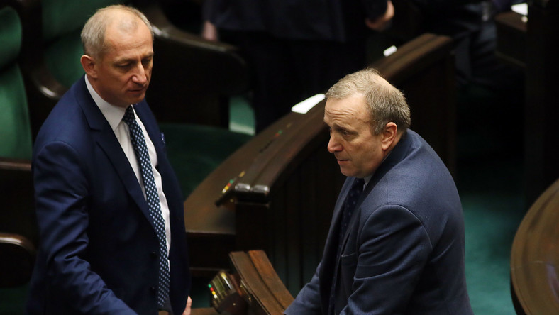 Sławomir Neumann i Grzegorz Schetyna