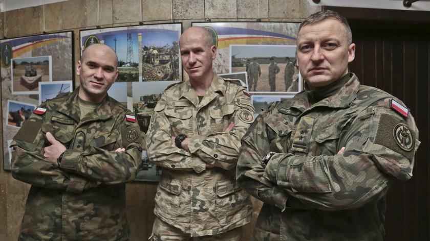 Polscy żołnierze wspominają walki w Karbali