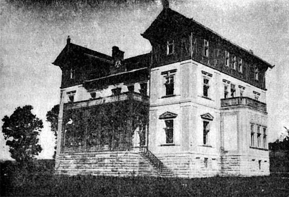 Dvorac u Takovu sagrađen za Dragu i Aleksandra Obrenovića