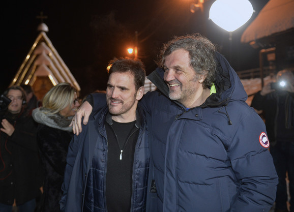 Met Dilon i Emir Kusturica
