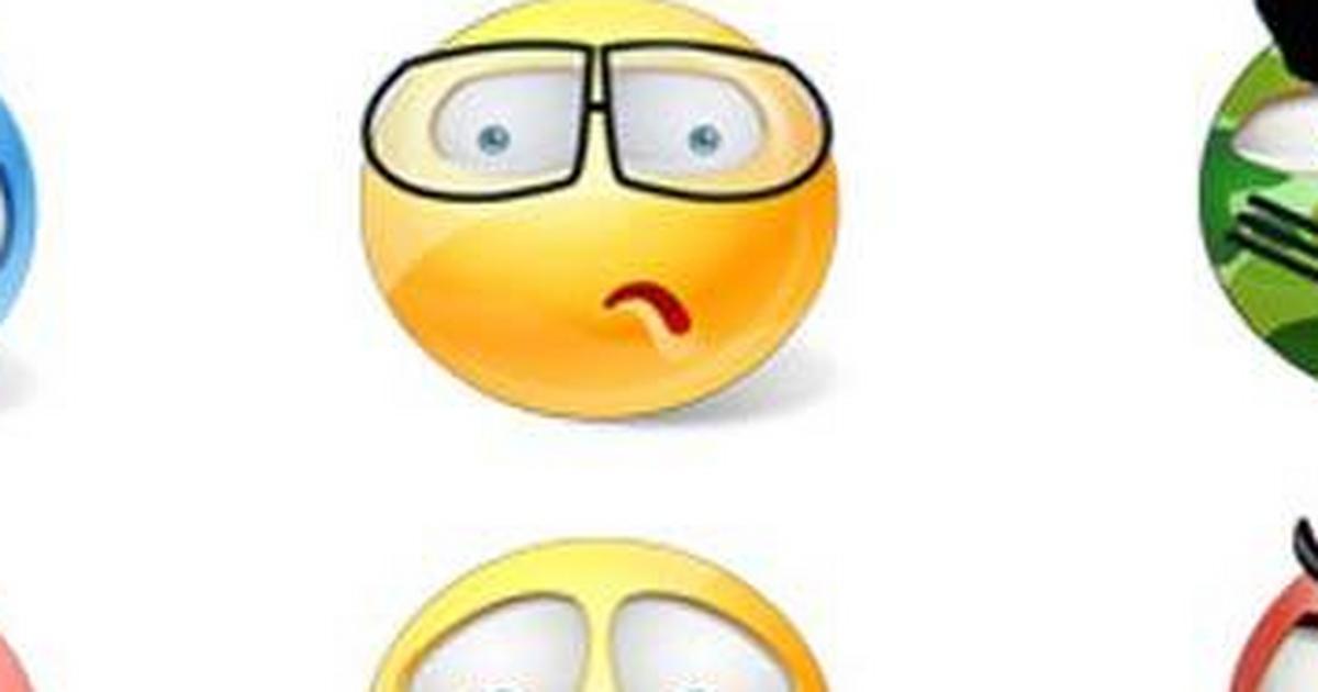 Emotikony ciekawe Emotikony, emoji