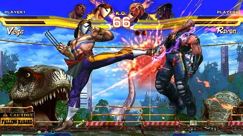 Street Fighter vs Tekken