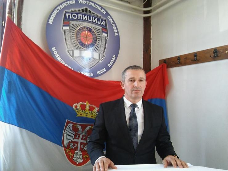 NOVIPAZAR01 Ressad Dzzankovich  sadassnji vd naccelnik PU Novi Pazar   foto N. Koccovich