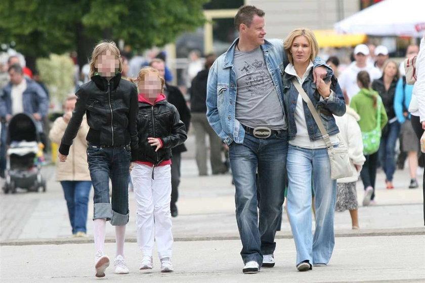 Krzynówek z żoną w Sopocie