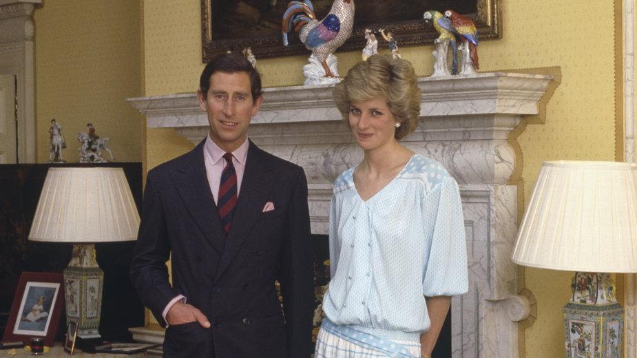 Książę Karol i księżna Diana w Pałacu Kensington