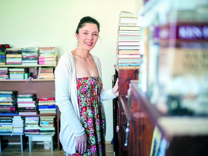 želja joj je da svaka škola, vrtić, bolnica u Srbiji imaju biblioteku