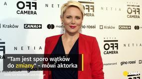 """Anna Samusionek o """"Smoleńsku"""": sporo można zmienić"""