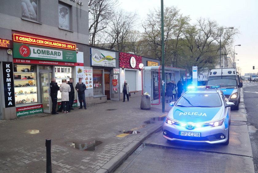 Dwa napady na lombardy w Warszawie. Trwa policyjna obława