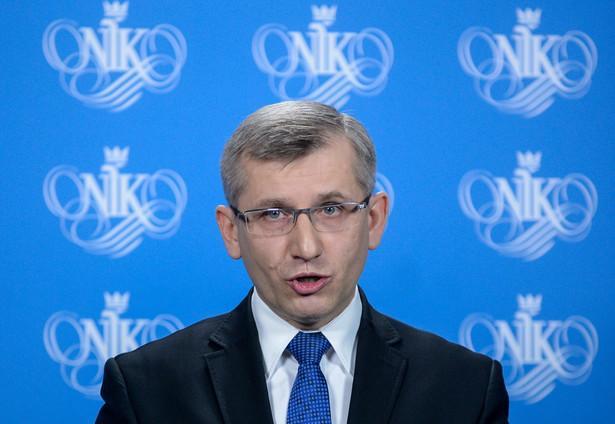 Szef NIK Krzysztof Kwiatkowski wystąpił już do Marszałek Sejmu o uchylenie mu immunitetu