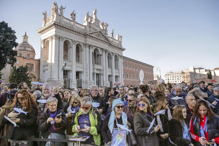 Rim, protest