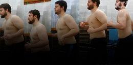 Anglik pokazał, jak bardzo schudł. W 9 miesięcy zrzucił 22 kg!