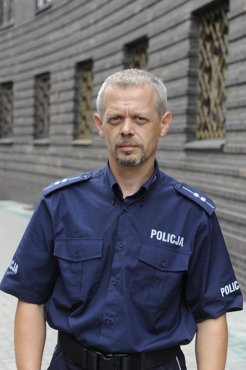 Paweł Petrykowski (45 l.), rzecznik dolnośląskiej policji