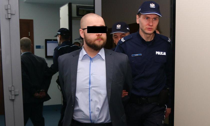 Adwokat Bartosz W. przed sądem