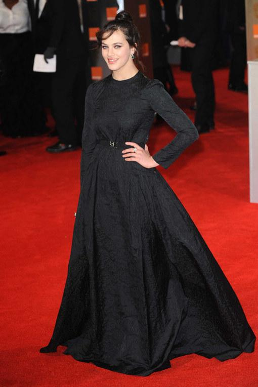 Jessica Brown-FindlayThe Baftas 2012