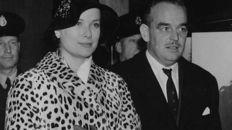 Księżna Grace i książę Rainier