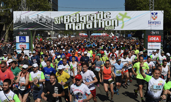 Beogradski maraton simbol prestonice duže od tri decenije