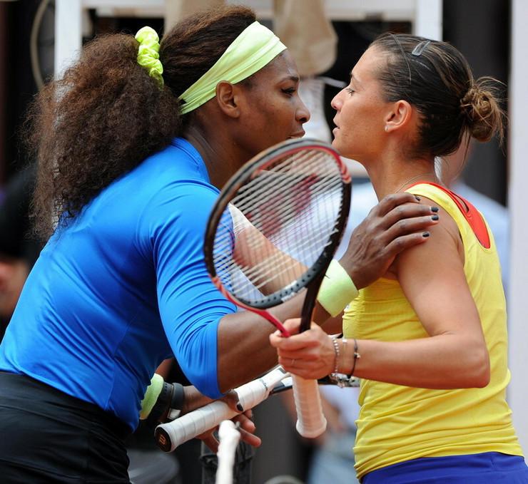 Serena Vilijams i Flavija Peneta