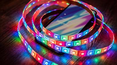 Vergleich: Fünf smarte LED-Streifen ab 35 Euro im Test