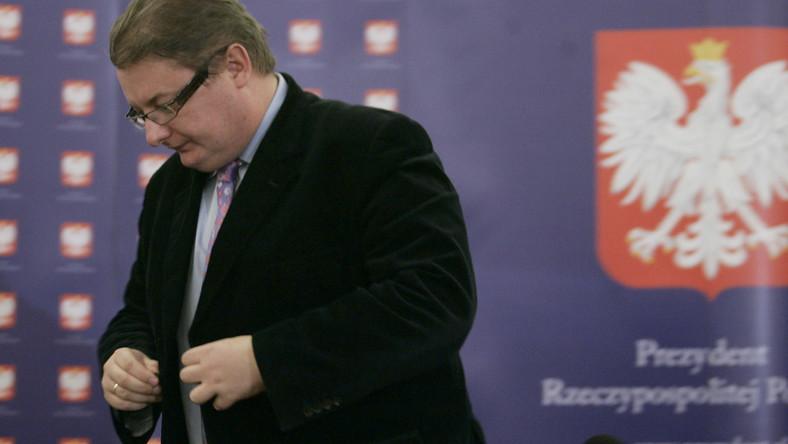 Prezydencki minister Michał Kamiński podał się do dymisji