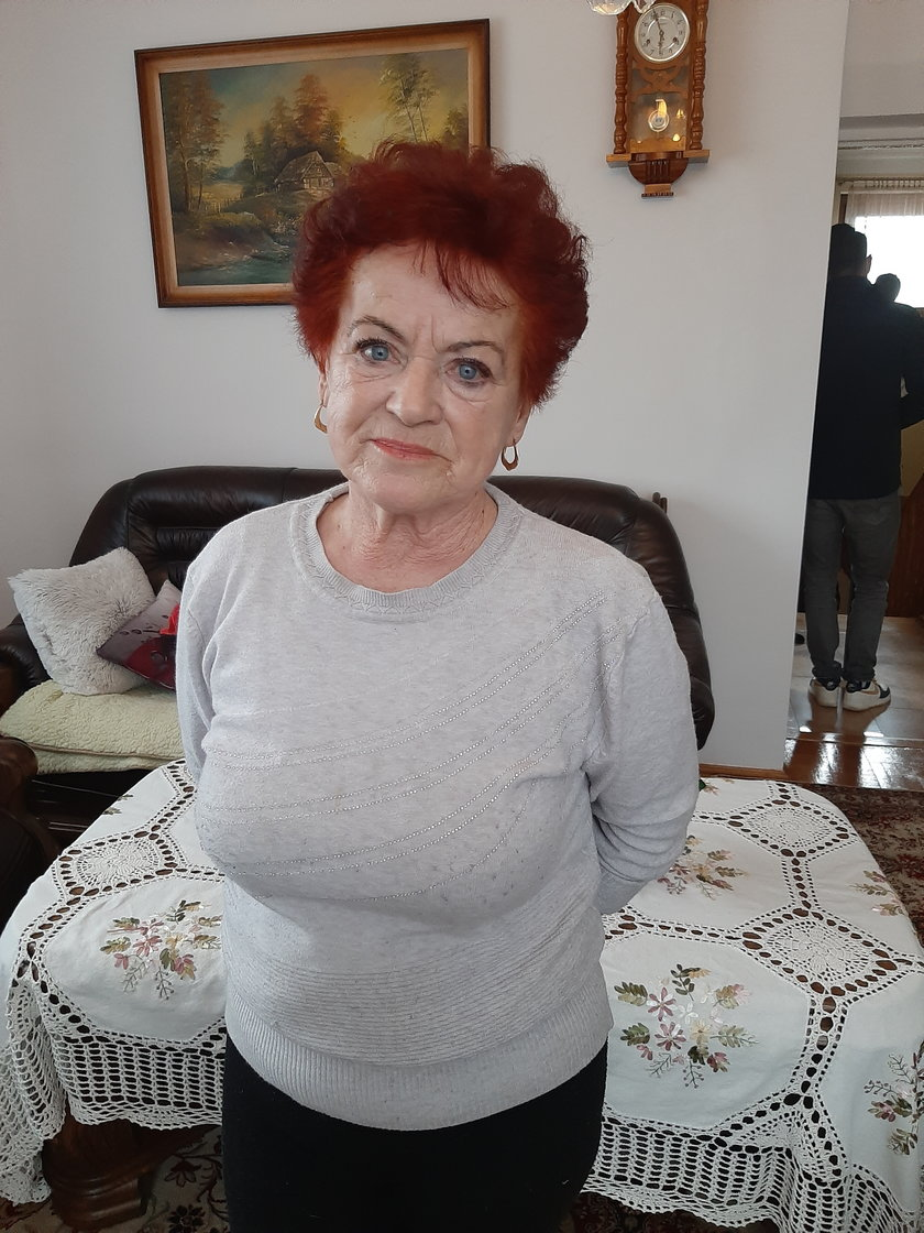 72-letnia Zofia Kaczmarek