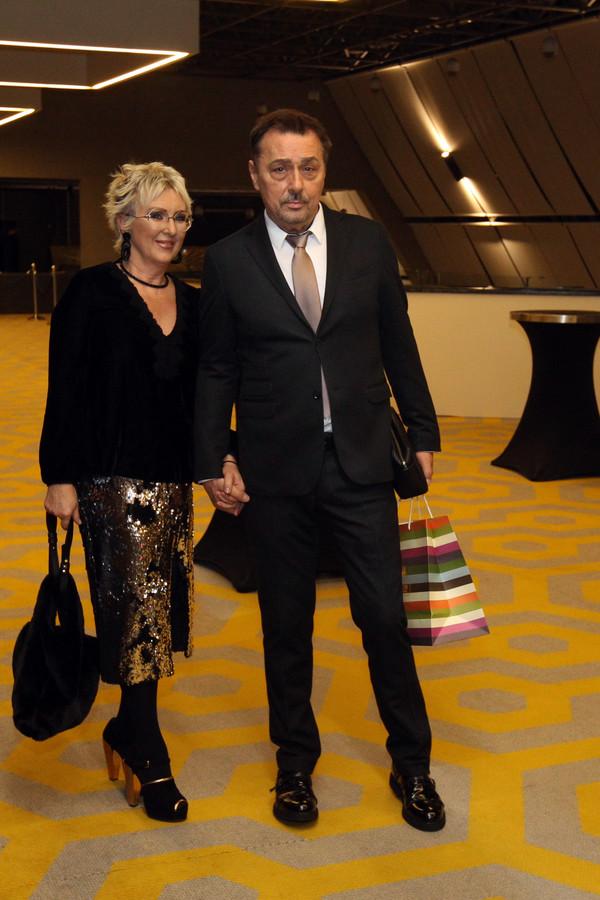 Dragan Kojić Keba sa suprugom