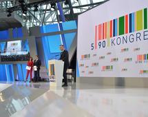Na otwarciu drugiego Kongresu 590 w Rzeszowie przemawiał m.in. prezydent Andrzej Duda.