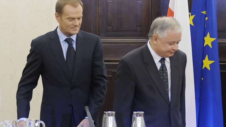 Tusk chce przyćmić prezydenta