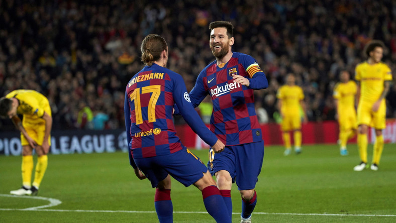 Antoine Griezmann i Lionel Messi