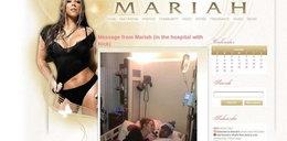 Tak gwiazda poi cierpiącego męża w szpitalu