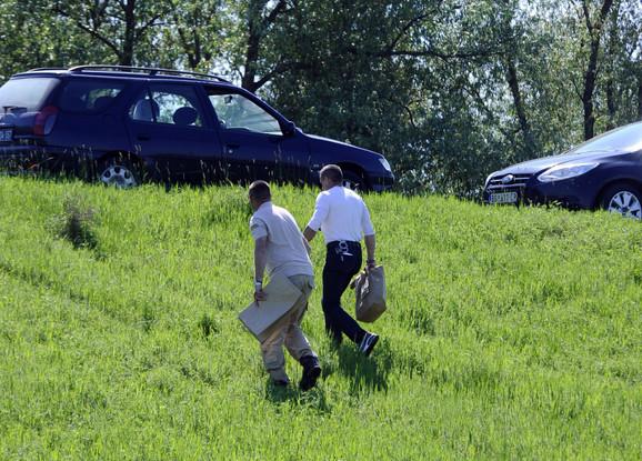 Forenzičari su nekoliko puta pročešljali mesto gde je Jelena ubijena