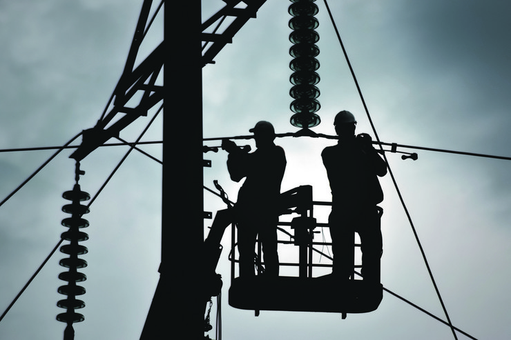 stock-photo-power-line-support-insulators-and-wires-appearance-of-a-design-assembly-and-installation-of-new-416862904