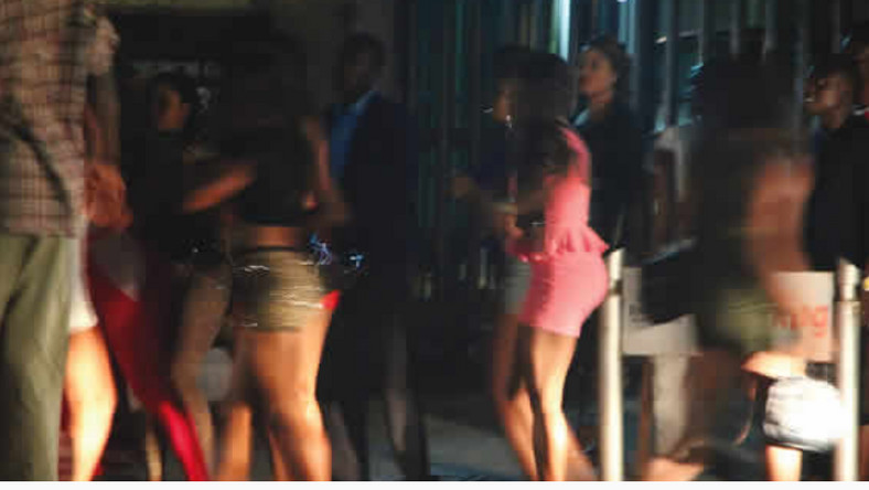 Police arrest 50 prostitute (Punch)