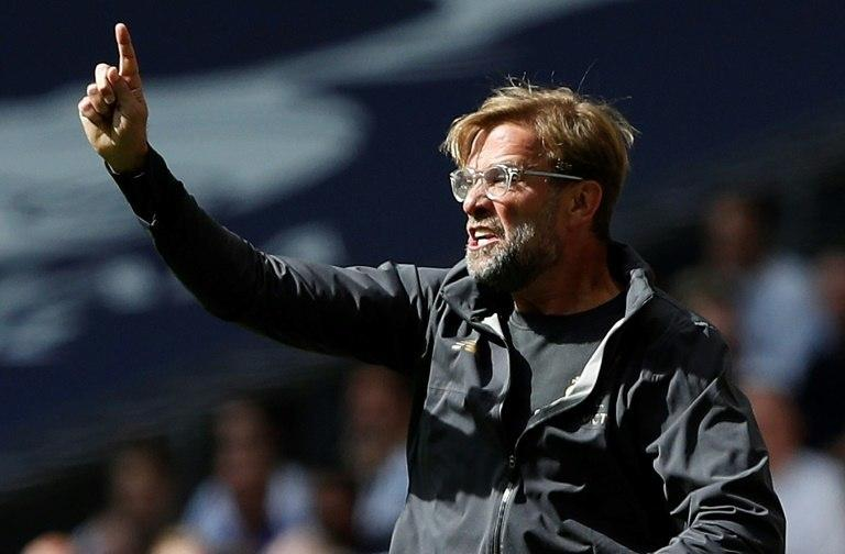 Jurgen Klopp said it was Liverpool's best performance of the season