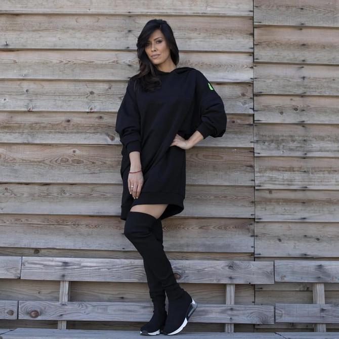 Katarina danas u modnom kampanji dizajnerke Marine Milovanović Lučić