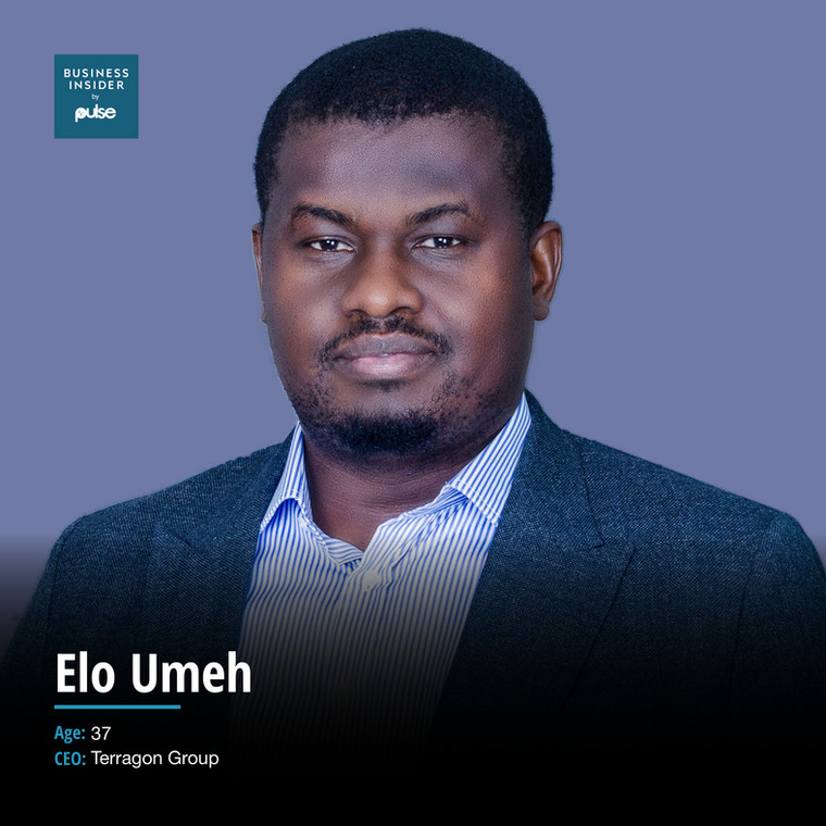 Elo Umeh, Nigerian entrepreneur and founder of the Terragon Group