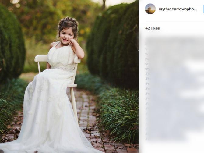 Mama je pred smrt požeIela da vidi ćerku u svojoj venčanici. Devojčica joj je ispunila želju