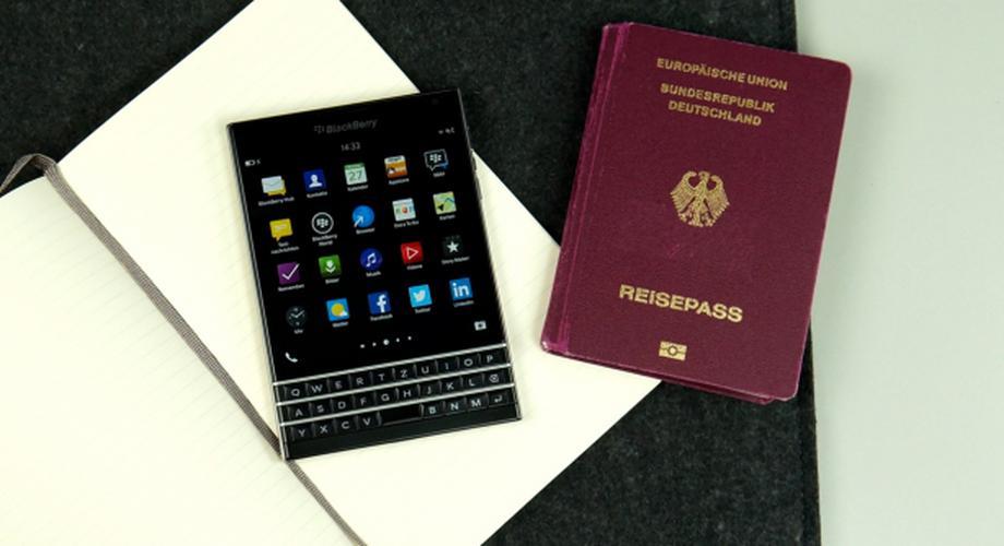 BlackBerry Passport mit quadratischem Display im Test