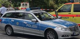 Atak nożownika w pociągu. Dwie osoby ranne