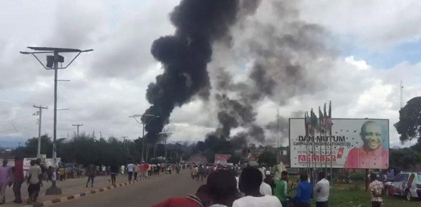 Przerażające zdjęcia. Wiele osób zginęło w wybuchu