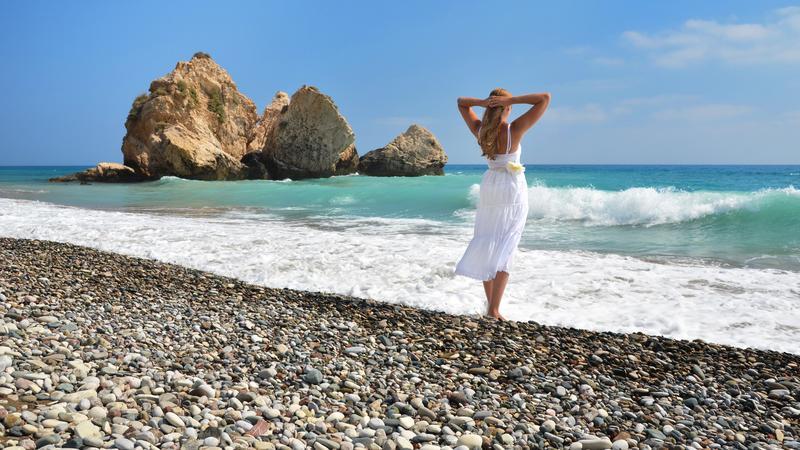 Petra tou Romiou, Cypr