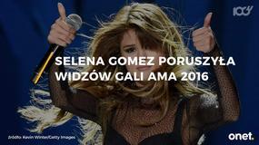 Poruszająca przemowa Seleny Gomez na MTV AMA 2016