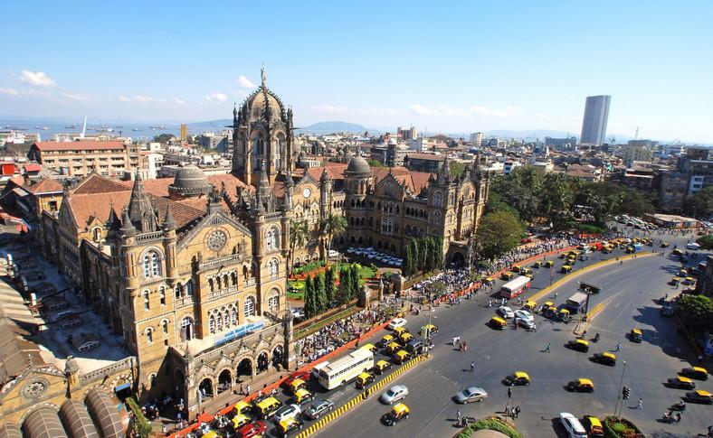Dworzec kolejowy Chatrapati Shivaji Terminus w Mumbaju