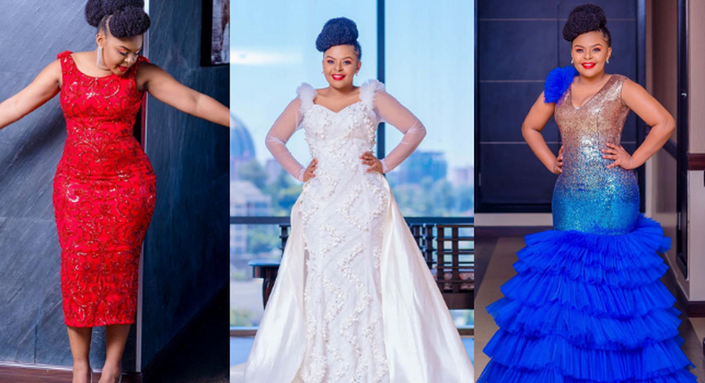 Size 8 steps out looking all snatched up weeks after giving Birth (Photos)