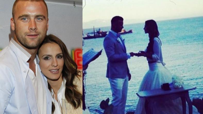 Artur Boruc i Sara Mannei wzięli ślub