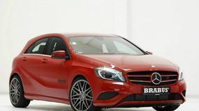 Mercedes Klasy A zmieniony przez Brabusa