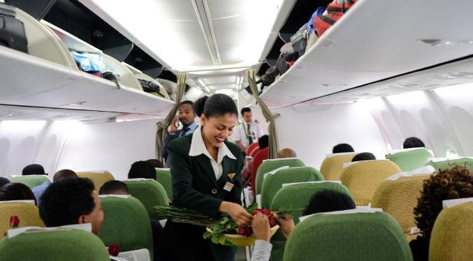 As of the end of 2018, Ethiopian Airline had a fleet of 108 aircraft, over 11,000 employees, and carried over 8 million passengers per year.